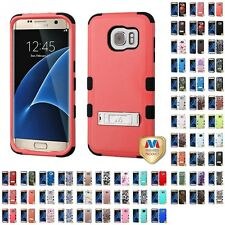 For Samsung Galaxy S7 Edge Hybrid TUFF IMPACT Phone Case Hard Rugged Cover