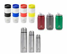 Stainless Steel Hot Flask Can Mug Vacuum Insulated Water Drinks Sports 350 700ml