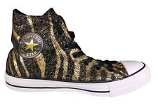 Converse All Star Chuck Taylor Hi Top Black Gold Sneakers Women's Shoes 544865