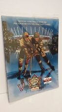 NHL Hockey 2014 HERITAGE CLASSIC PROGRAM New Vancouver Vs Ottawa Tim Hortons