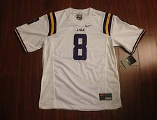 LSU Tigers #8 Youth Nike Game Jersey New With Tags Zach Mettenberger
