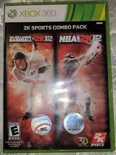 XBox 360 - 2K Sports Combo Pack Major League Baseball MLB 2K12 / NBA 2K12
