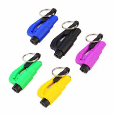 Mini Safety Keychain Car Emergency Rescue Glass Breaker Hammer Escape Tool New P