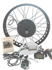1000W Fat Bike Fat Wheel Electric Bicycle E Bike Hub Motor Conversion Kit + LCD