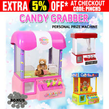 Carnival Style Vending Arcade Claw Candy Grabber Joystick Game Prize Machine Toy