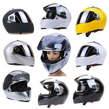 Dual Visor Full Face Motocross Bike Racing Helmet Motorcycle Mask for Sports ATV
