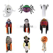 Halloween Supplies Hanging Paper Ghost Pumpkin Spider Ghost Funny Door Hanger
