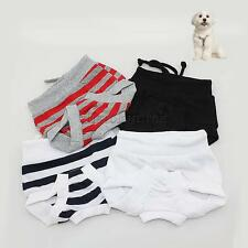 Pet Dog Puppy Cotton Physiological Pants Short Panty Sanitary Underwear Diaper