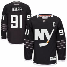 Reebok John Tavares New York Islanders Black Premier Alternate Jersey - NHL