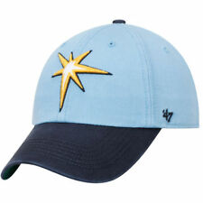 '47 Tampa Bay Rays Light Blue/Navy Franchise Batting Practice Fitted Hat - MLB
