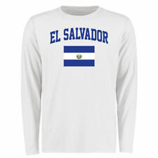 El Salvador White Flag Long Sleeve T-Shirt - Country Flags