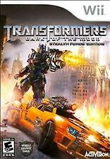 Transformers: Dark of the Moon -- Stealth Force Edition (Nintendo Wii, 2011)