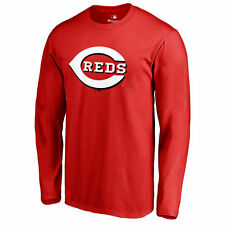 Cincinnati Reds Red Big & Tall Primary Team Logo Long Sleeve T-Shirt