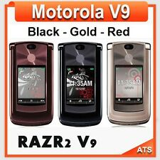 Motorola RAZR2 V9 Unlocked Mobile 2GB Flip Phone English-Russian-Arabic Keyboard