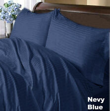 All in One Luxury Hotel Collection Navy Blue US Beddings 1000TC 100% Cotton