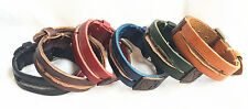 Genuine Leather Bracelet new Style Woman Leather Wristband Charm Bracelet NK003