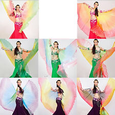 Belly Dance Costume Colorful Gradient Color Angel Isis Wings Rainbow wing New