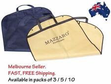 Suit. Dress. Coat Garment Storage - Travel Carrier Bag Cover Pack of 3, 5, or 10