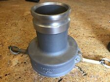 "Cam & Groove 6"" by 4"" adapter, Aluminum NOS"