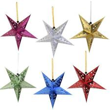 10xColor Star Light Hanging Paper Lantern Bright Star Wedding XMAS Party Lantern