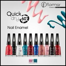 Flormar Quick Dry Nail Enamel - Dries in 60 Seconds* 11ml - Different Colours