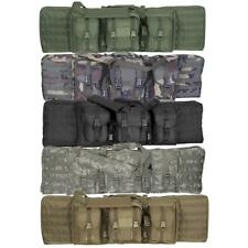 """Enhanced Voodoo Tactical 42"""" MOLLE Soft Rifle Case, Padded Weapon Bag"""