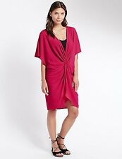 Bnwt M&S pink beach cover up Kaftan Size Small RRP £19.50