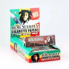 Bob Marley 1-1/4 Size Pure Hemp Cigarette Rolling Papers variations by eTrendz