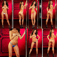 Sexy Women Lace Professional Stripper Dancer Micro G-String Thong Underwear New