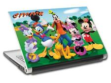 Mickey Minnie Mouse Personalized LAPTOP Skin Vinyl Decal Sticker ANY NAME L326