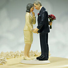Still In Love Mature Older Couple Wedding or Anniversary Cake Top Topper