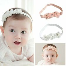 Newborn Toddler Kids Baby Girl Bow Flower Headband HairBand Headwear Accessories