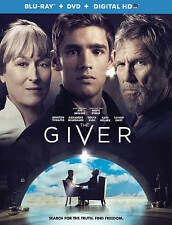 The Giver (Blu-ray/DVD, 2014, 2-Disc Set, Includes Digital Copy Ultraviolet)