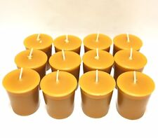 Beeswax 15 Hour  Votive Candles Pick A Pack