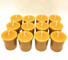 Natural Beeswax  Votive Candles Pick A Pack