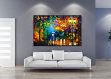 Modern Abstract Wall Art Oil Painting On Canvas Wall Deco ,City Streets(No Fram)