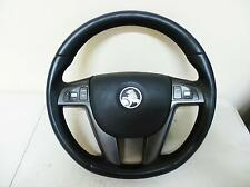 HOLDEN COMMODORE STEERING WHEEL LEATHER, VE, 08/06-04/13