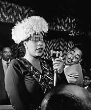 Ella Fitzgerald and Ray Brown portrait photograph 8 x 10 photo
