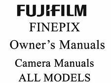 Fuji FujiFilm FinePix User Guide Operator Manual (A)