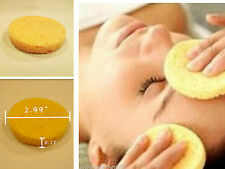 Round Shape Compressed Facial Cleansing Cellulose Makeup Remover Sponge Puff