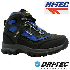HI TEC GIRLS BOYS WATERPROOF SCHOOL WINTER SNOW HIKING SHOES BOOTS TRAINERS SIZE