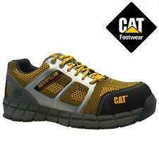 MENS CATERPILLAR COMPOSITE TOE CAP SAFETY WORK WIDE TRAINER SHOE BOOTS SIZE