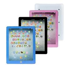 Child Kids Touch Type Computer Tablet English Mimic Learning Study Machine Toy