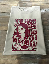 Pink Floyd Inspired T-Shirt See Emily Play Psychedelic Syd Barrett Hippie Rock