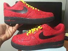 "NIKE AIR FORCE 1 LOW Classic Chunky"" UNIVERSITY RED SAIL"" 488298-617 Mens Shoes"