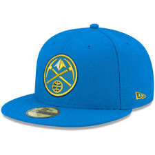 New Era Denver Nuggets Blue Official Team Color 59FIFTY Fitted Hat - NBA