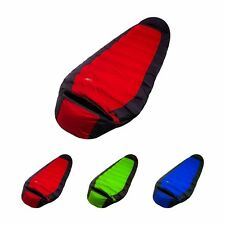 Silhouette Duck Down Sleeping Bag Hiking With Carrying Case Waterproof Camping