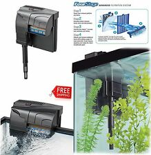 Aquarium Power Filter From 10 Up 50 Gallon Quiet Flow Fish Tank Filtration Syste