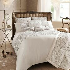 Luxury Eva Oyster Designer Bedding Bed Linen By Kylie Minogue 100% Polyester