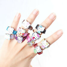 Wholesale 10X Cat leather Ring Girl Kid Birthday Party Bag Favor Gift